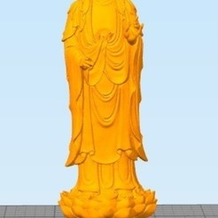 Buddha on Lotus.jpg Download STL file Buddha Stand on Lotus • 3D printing model, Eve
