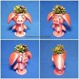 Free STL Cute animal - Rose pig potted, mingshiuan