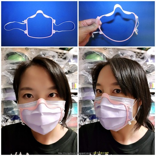 Descargar archivos STL gratis Máscara Covid-19 - Máscara facial cerca de la cara, mingshiuan
