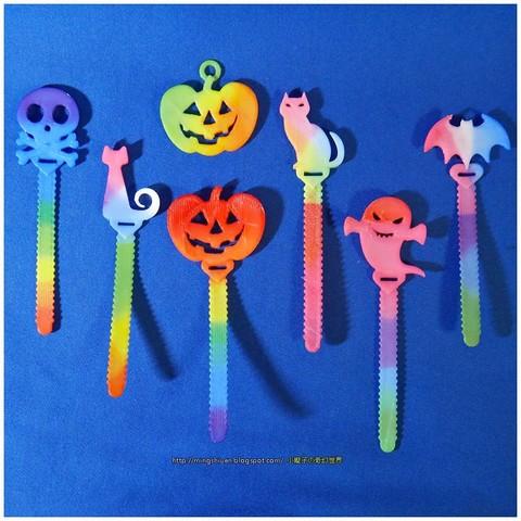 Télécharger fichier STL gratuit Porte-câble Halloween / marque-pages, mingshiuan