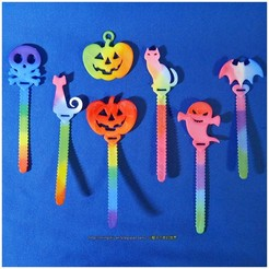 Free 3D printer files Halloween Cable Holder / Bookmarks, mingshiuan