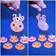 Download free 3D printer files 2019 HAPPY CHINESE NEW YEAR-YEAR OF The Pig Keychain, mingshiuan