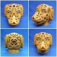 Free 3D printer designs Dog Lamps, mingshiuan