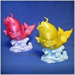 Free 3d printer files big fish, mingshiuan