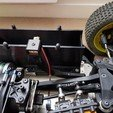 Download STL file Lapmonitor mount for Losi 5ive-B • Template to 3D print, Blink60