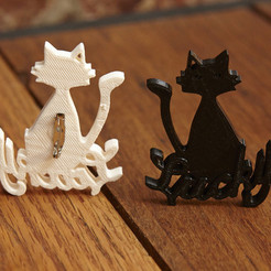 "Download free STL file Stacy London's ""Lucky Cat"" • 3D printing template, GeneralElectric"