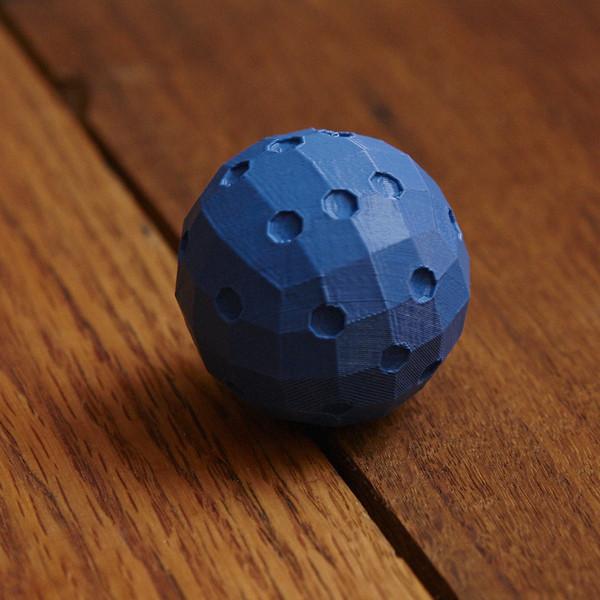 "131203_SubRosa_GE_264_display_large.jpg Download free STL file David OReilly's ""Spherical Die"" • 3D printing design, GeneralElectric"
