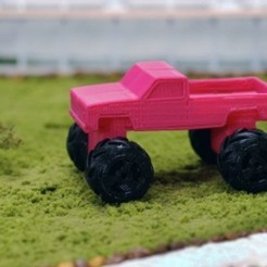 Download free 3D printer templates Pickup Truck, GeneralElectric