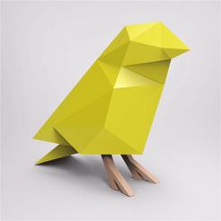 Download 3D model low poly cute bird, Novarts3D