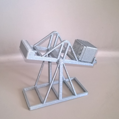 Download free 3D printer templates Microwave Catapult, fabricationperso