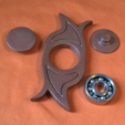 3D printing model Hand spinner copper, fabricationperso