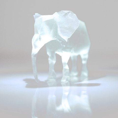 2014-05-01_20-43-01_-_______2.jpg Download free STL file Polygon Elephant • 3D printable template, IDEABOX