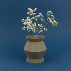 3D printer files 6vases4, UAUproject