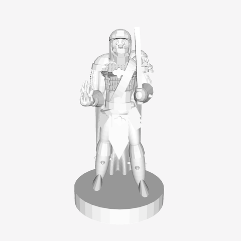 Download free STL file DnD human caster, mrhers2