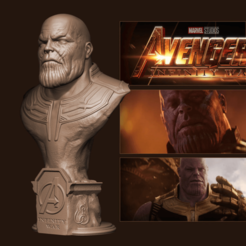 Free 3D printer designs Thanos (Avengers: Infinity War), Byambaa