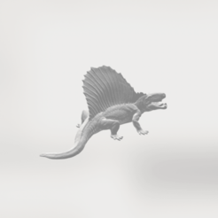 Free 3D printer designs Dimetrodon II, sjpiper145
