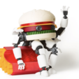 STL MECHDONALDS // Guardian of the Fries, 3DWORKBENCH