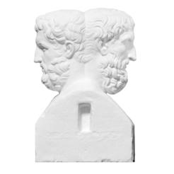 Descargar Modelos 3D para imprimir gratis Doble Herm con Epicuro y Metrodorus, ThreeDScans
