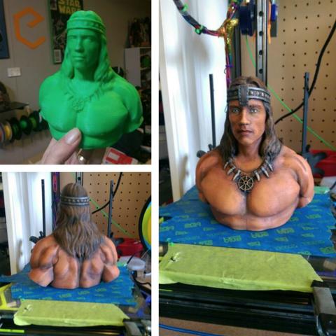 Download free 3D printer templates Conan Redux, Geoffro