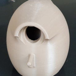 Free STL Easy Print Bird Box, 3D-Designs