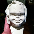 Capture d'écran 2018-10-01 à 11.15.56.png Download free OBJ file Chucky Bust  • 3D printable template, Snorri