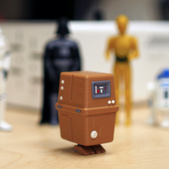 Download free STL file Gonk Droid, MosaicManufacturing