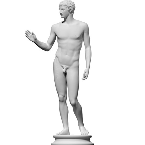 Download free 3D printing models Jüngling vom Magdalensberg, ThreeDScans