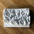 Download free STL file Topographic map of Grand Teton, Wyoming • 3D printing design, Pierre