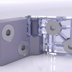 Descargar archivos 3D gratis Bisagra #1, SE_2018