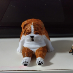 Download free 3D printer designs BullDog, orangeteacher