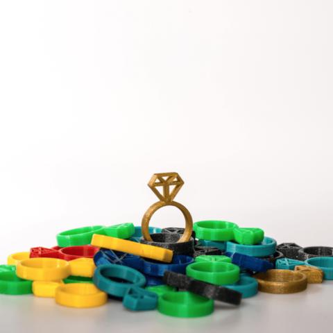 Capture d'écran 2018-02-22 à 11.18.35.png Télécharger fichier STL gratuit Ring - Diamond • Plan pour imprimante 3D, 3D-mon