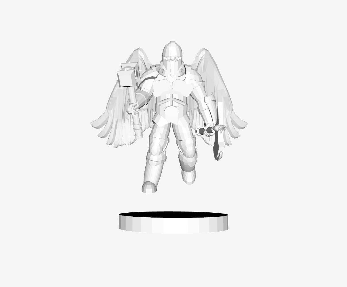 Capture d'écran 2018-08-02 à 10.55.18.png Download free STL file Angel Warrior • 3D printer model, mrhers2