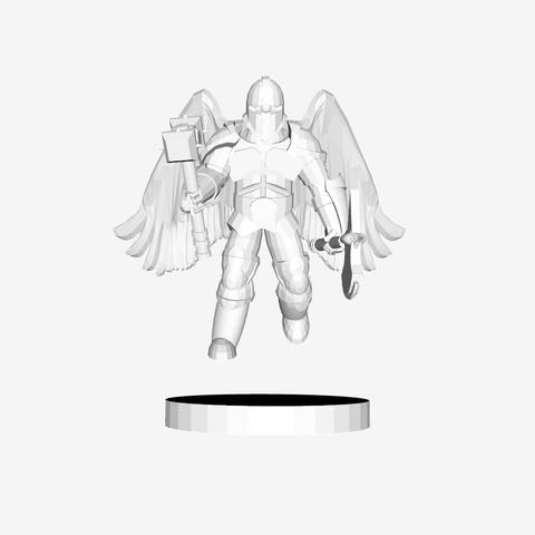Download free STL Angel Warrior, mrhers2