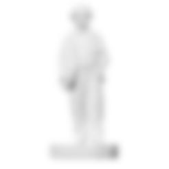 Download free STL Bursche im Sakko mit der linken Hand in der Hosentasche (Photosculpture), ThreeDScans