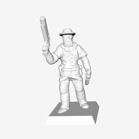 Download free 3D printing templates Sheriff Bob, mrhers2