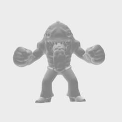 Download free 3D print files Keshiverse - Moby Lick (Street Sharks), whackolantern