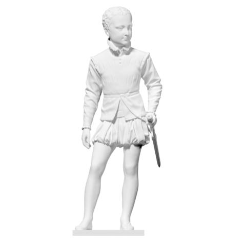 Télécharger fichier imprimante 3D gratuit Henri IV enfant, ThreeDScans