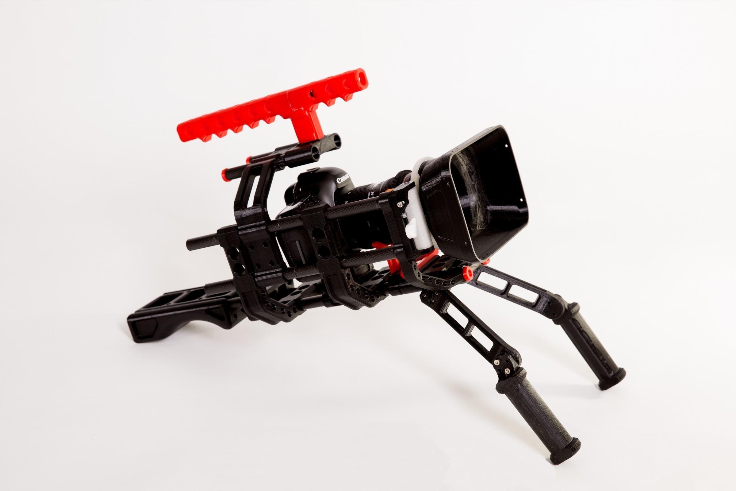 格式工厂_W4A9884.jpg Download free STL file 3D print shoulder rig V2.0 • 3D printer design, SWANGLEI