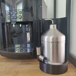IMG_20200525_103553.jpg Download free STL file KRUPS coffee pot option milk jugs • 3D print object, MrK