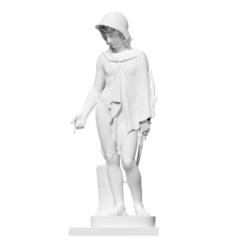 Impresiones 3D gratis Cupido disfrazado de pastor, ThreeDScans