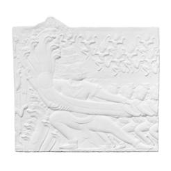Imprimir en 3D gratis Molde de yeso de una sección del bajorrelieve de Angkor Wat que representa a Samudra Manthan (Batido del Océano de Leche), ThreeDScans