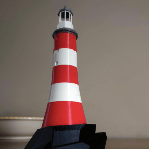Download free 3D print files Smeaton's Tower Lighthouse, sidneylopsides