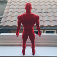 3D print files Low Poly Daredevil, biglildesign