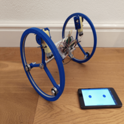 Download free STL files RC Arduino Diwheel, Leon77