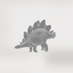 Free 3D printer designs Stegosaurus II, sjpiper145