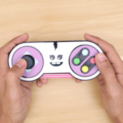 Free 3D print files Joy The Gamepad Controller, Adafruit