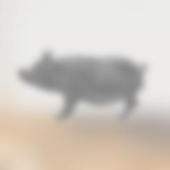 Sow_.stl Télécharger fichier STL gratuit Truie Porcine • Plan pour imprimante 3D, sjpiper145