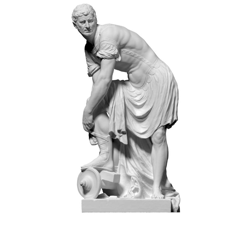 Capture d'écran 2018-09-13 à 17.37.54.png Download free STL file Lucius Quinctius Cincinnatus • Design to 3D print, ThreeDScans