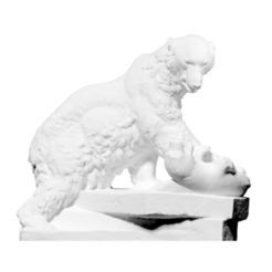 Download free 3D printing models Polar bear and seal, ThreeDScans