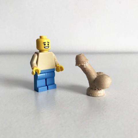 Download free STL file LEGO Dickhead • 3D printable design, Pierre